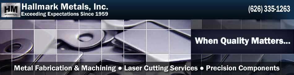 Sheet Metal Laser Cutting - Precision CNC Los Angeles, California